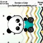 Bisnaga Brigadeiro 15gr Panda Menino
