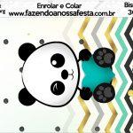 Bisnaga Brigadeiro 30gr Panda Menino
