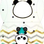 Bolsinha para lembrancinha Panda Menino