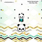 Caixa Bala Panda Menino Kit Festa