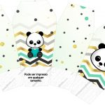 Caixa China in Box Panda Menino