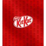 Caixa Kit Mini Confeiteiro Chocolates Kit Kat parte de baixo