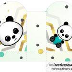 Caixa Coracao Panda Menino