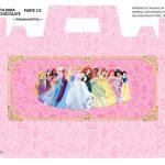 Caixa Maleta para Pascoa Princesas da Disney 01