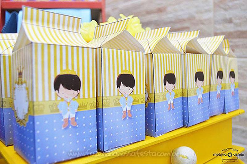 Caixa Milk Festa Principe do Arthur