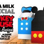 Caixa Milk Mickey e sua Turma Grátis para Imprimir em Casa