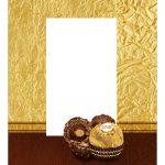 Caixa Kit Mini Confeiteiro Ferrero Roche parte de cima