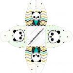 Caixa Panda Menino