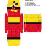 Caixa Personalizada de Kinder Ovo Mickey Mouse