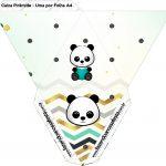 Caixa Piramide Panda Menino
