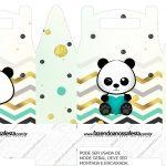 Caixa bombom Panda Menino