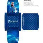 Caixa para Kinder Ovo Frozen