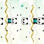 Caixa sabonete Panda Menino