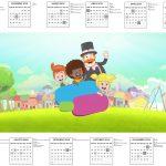 Calendario 2017 Mundo Bita