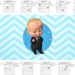 Calendario 2017 Poderoso Chefinho