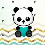 Cartao Panda Menino