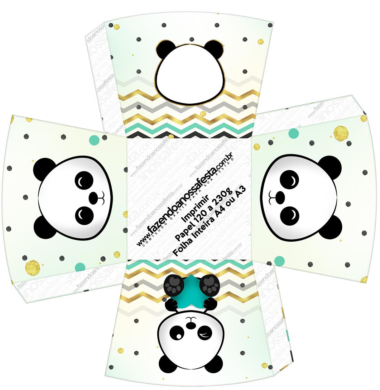 Chachepot Panda Menino