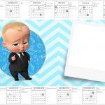 Convite Calendario 2017 Poderoso Chefinho