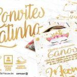 Convite Gatinho Grátis para Baixar Personalizar e Imprimir em Casa