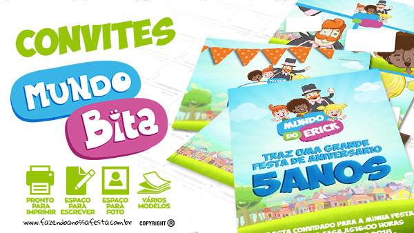 Convite Mundo Bita