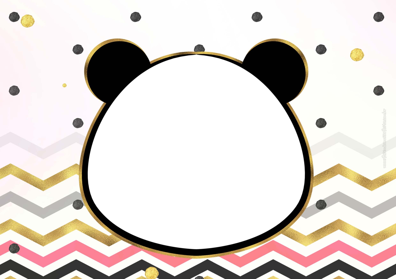 Convite Panda Menina 5
