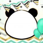Convite Panda Menino 3