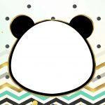 Convite Panda Menino 6