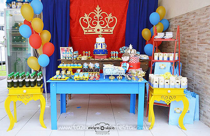 Decoracao Festa Principe do Arthur