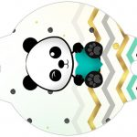 Enfeite Canudinho Panda Menino