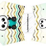 Envelope Fritas Panda Menino