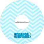 Etiqueta CD DVD Poderoso Chefinho
