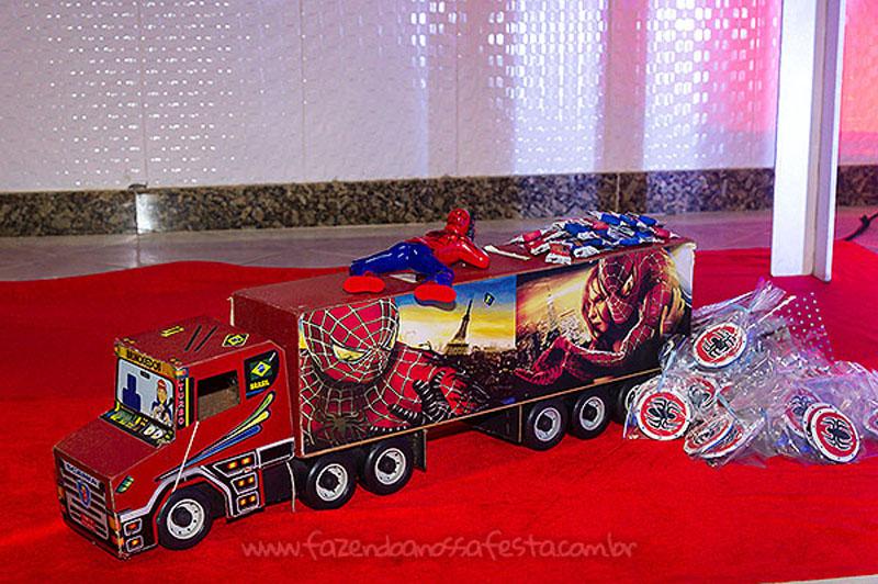 Festa Infantil Homem Aranha do Heitor 2