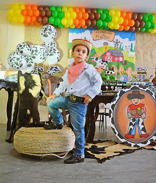 Festa Infantil Fazendinha do Heitor 4