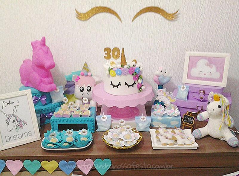 Festa Unicornio 30 anos da Amanda 2