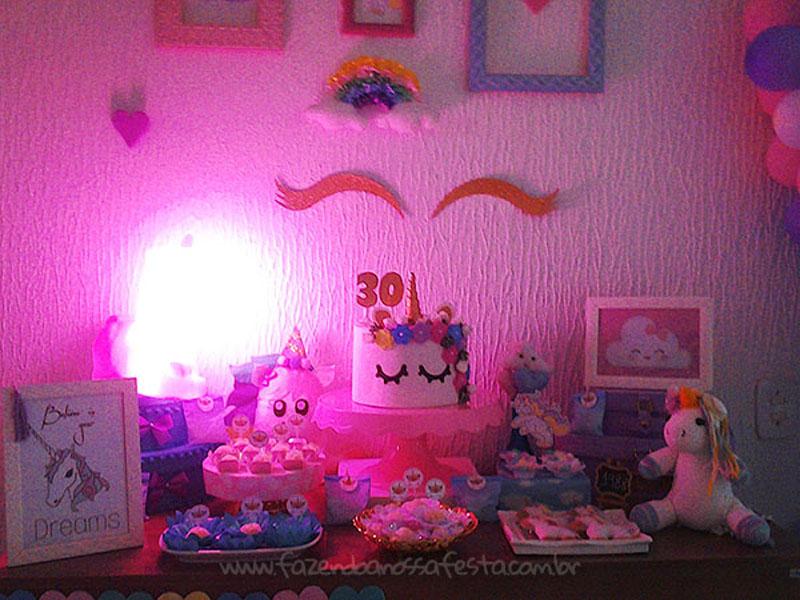 Festa Unicornio 30 anos da Amanda 3