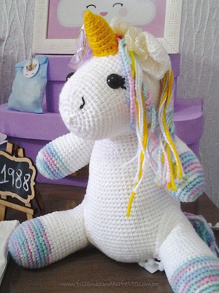 Festa Unicornio da leitora Amanda 2