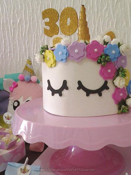 Festa Unicornio da leitora Amanda 6