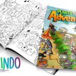 Livrinho para Colorir Plants vs Zombies Grátis para Imprimir