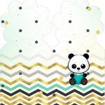 Marcador de Paginas Panda Menino