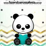 Mini Pastilha Docile Panda Menino