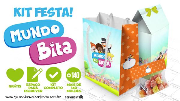 Mundo Bita Kit Festa para Imprimir