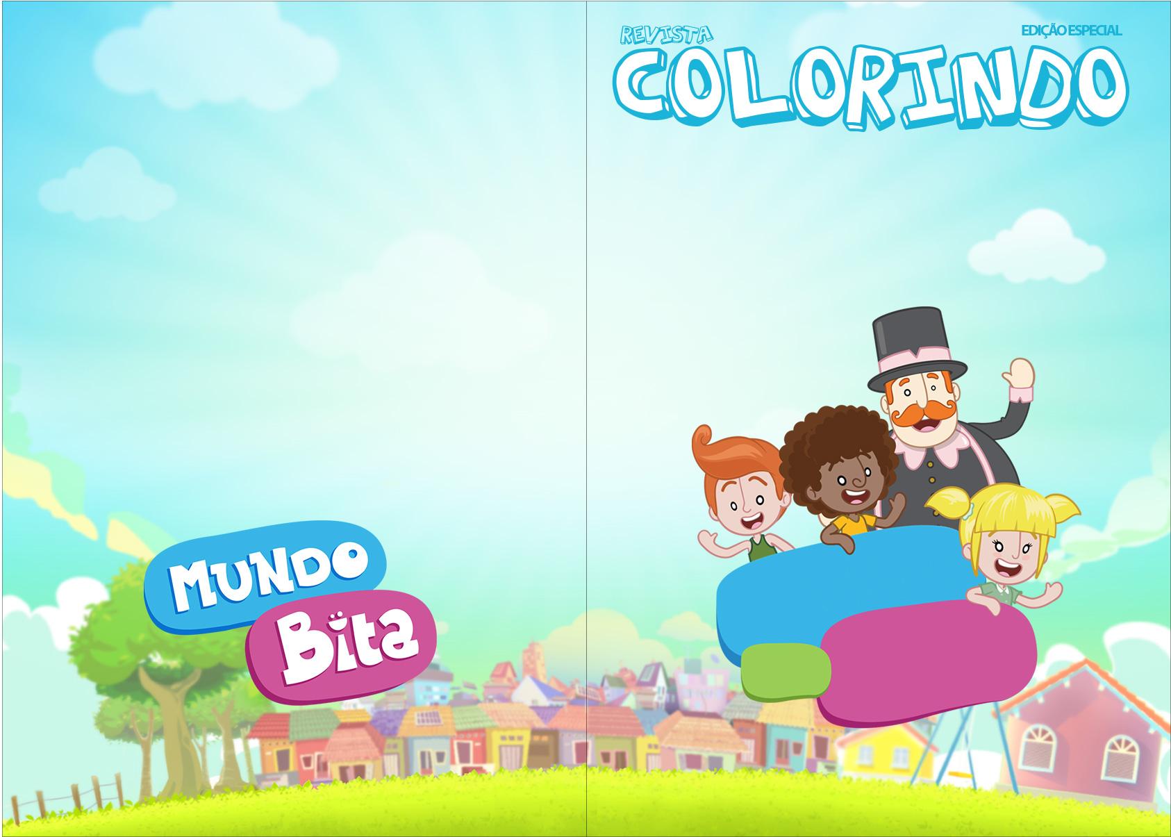 Revista Colorindo Mundo Bita
