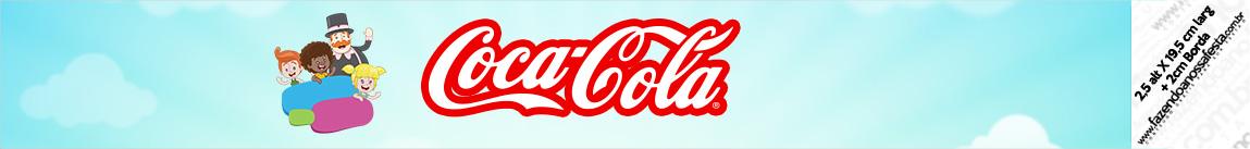 Rotulo Coca cola Mundo Bita
