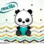Rotulo Creminho Nucita Panda Menino