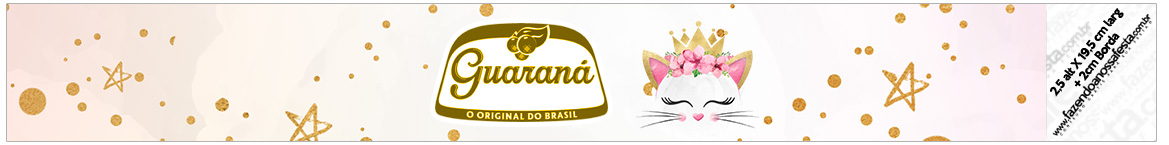 Rotulo Guarana Caculinha Gatinho