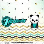 Rotulo Mini Trakinas Panda Menino