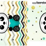 Rotulo Saquinho de Cha Panda Menino