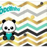 Rotulo Toddynho Panda Menino