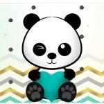 Rotulo Vinho e Espumante Panda Menino