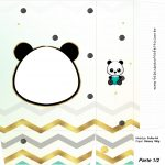 Sacolinha Surpresa 1 2 Panda Menino